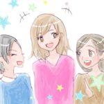 火曜日の小顔習慣⑤ 笑顔は一番の小顔への道! イラスト付き